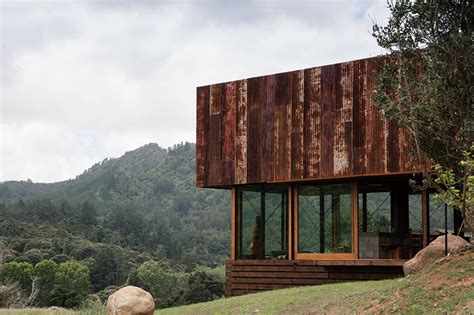 house architects herbst architects constructs k valley house in new zealand