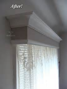 how to make a window box valance before after craftsman or window valance box