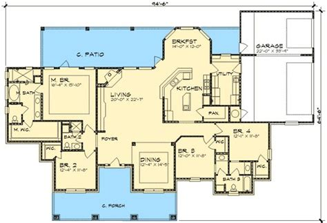 Hill House Plans by Hill Country Home Plan