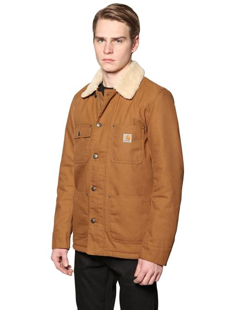 07 Farisia Jacket Light lyst carhartt techno cotton canvas jacket in brown for