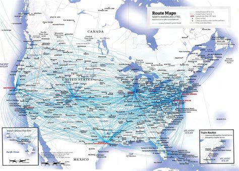 american airlines route map usa lufthansa and more efektywne wykorzystanie mil z