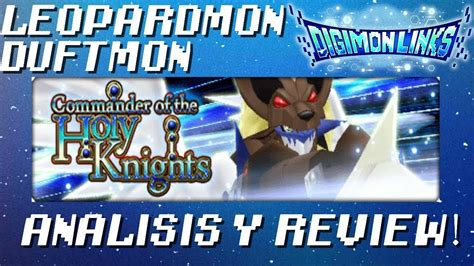 discord digimon links digimon links leopardmon duftmon next review youtube