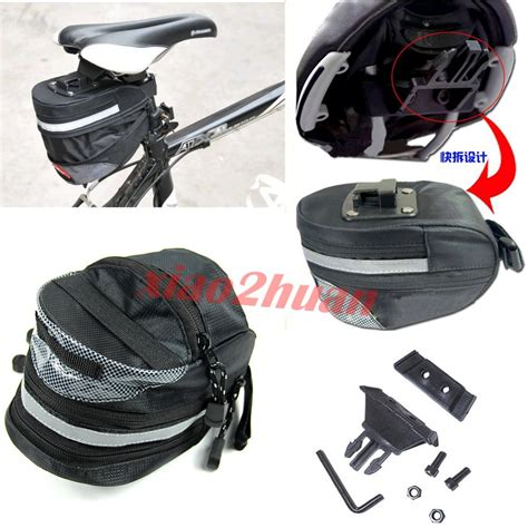 attach seat bike bag universal bicycle saddlebag seat pack pouch bike saddle