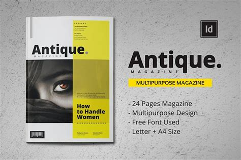 pdf magazine template magazine templates bundle only 9 85 only at