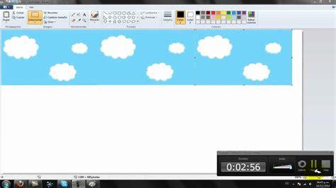 como hacer imagenes sin fondo en paint videotutorial como crear un fondo de pantalla en el