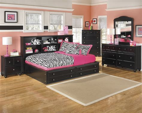 furniture jaidyn bookcase bed furniture jaidyn black 2pc bedroom set with