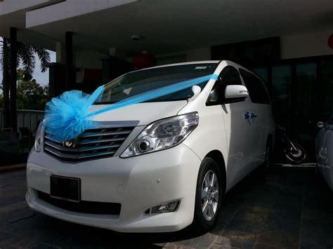 Wedding Car Alphard by Redorca Malaysia Wedding And Event Car Rental Toyota