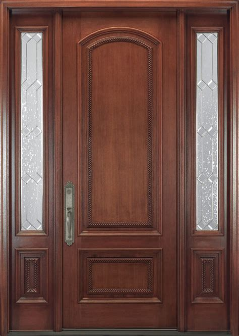 Doors For Doors by Doors Solid Cherry Exterior Door With