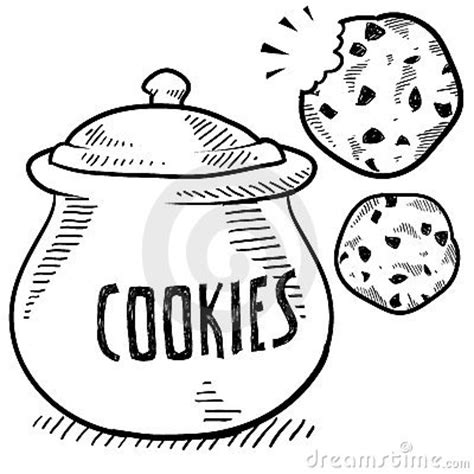 cookie doodle free cookie jar clipart clipartion