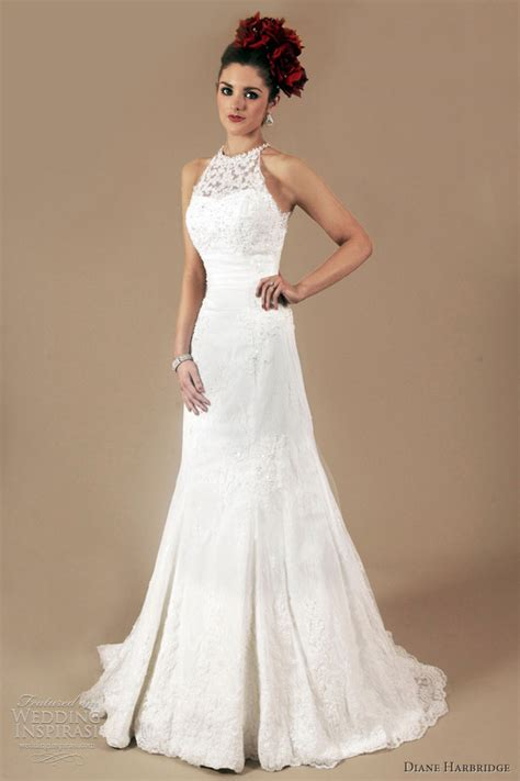 Halter Wedding Dress by Diane Harbridge Bridal 2012 Wedding Dresses Wedding