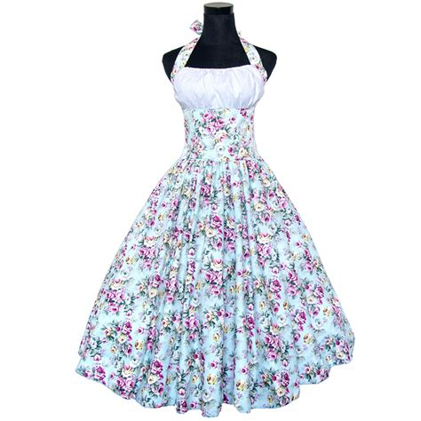 60s swing dress 50s 60s halter retro vintage rockabilly polka dots pinup