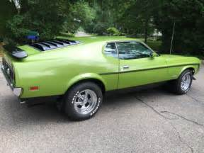 ford mustang 72 72 ford mustang mach 1 351w h code runs drives great ac