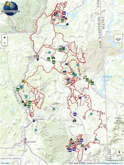 atv trails maps garmin gps maps for snowmobile and atv trails autos post