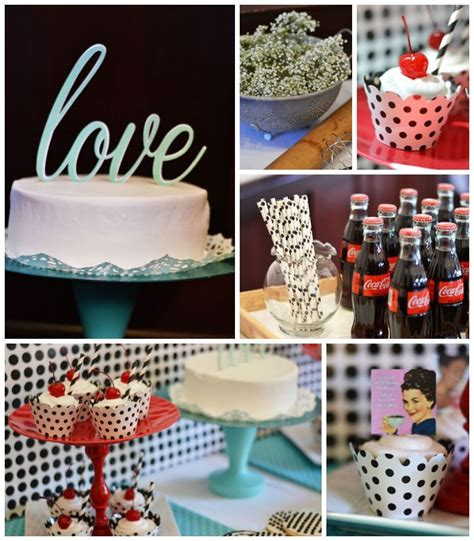 1950s happy housewife bridal shower karas party ideas 1950 s housewife retro themed bridal shower party