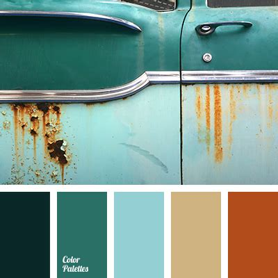 greenish brown color green and turquoise color palette ideas