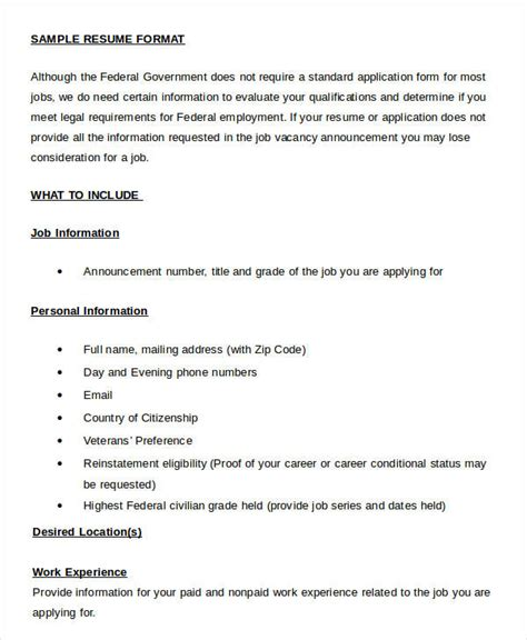 Resume Format Word Document by Resume In Word Template 24 Free Word Pdf Documents Free Premium Templates