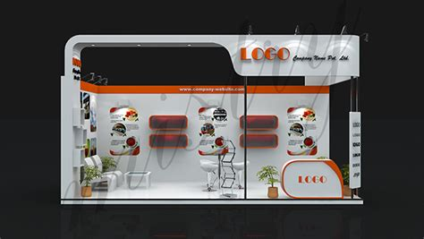 booth design gallery exhibition booth design on behance