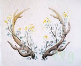 best 25 deer antler tattoos ideas on pinterest antler