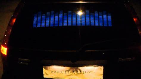 Obeng Led 8 In 1 equalizer auto aufkleber auto mit led equalizer