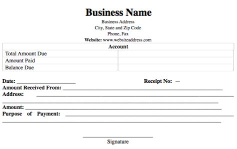 Numbered Receipt Template 4 Per Page by Expressexpense Custom Receipt Maker Receipt