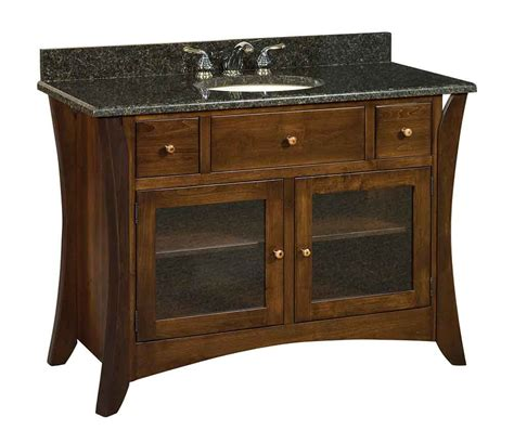 amish made bathroom cabinets amish made vanity sinks