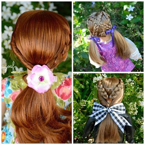 Doll Hairstyles Easy by 25 Beautiful American Doll Hairstyles