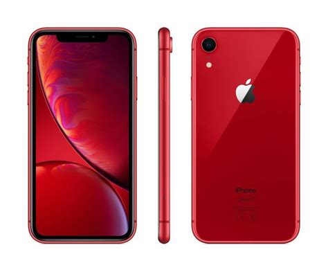 apple iphone xr mit 128 gb in rot handy real