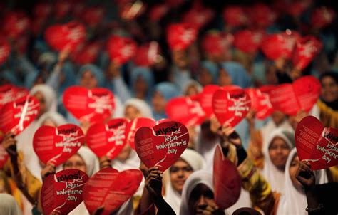 valentines day celebration worldwide