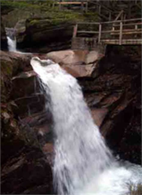 rodrick s guide to vermont waterfalls cascades gorges books kancamagus highway waterfalls sabbaday falls rocky gorge