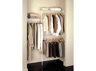 Rubbermaid Closet Kits by 3 5 Foot Closet Kit Rubbermaid