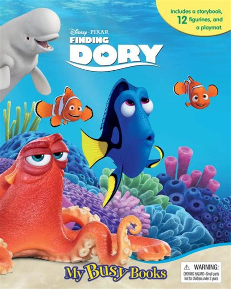 Finding Dory Busy Book disney finding dory my busy books by phidal publishing