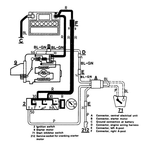 Volvo 740 1986 1987 Wiring Diagrams Starting