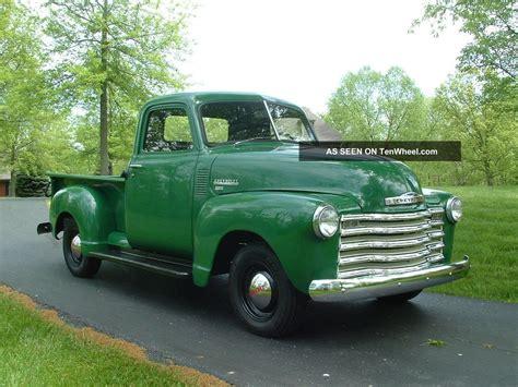 1949 chevrolet truck autos post