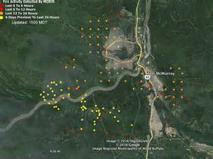where is fort mcmurray on a map of canada alberta fort mcmurray continues spreading southeast
