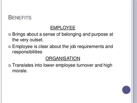 orientation and induction orientation and induction benefits 28 images recruitment 5 employee induction and