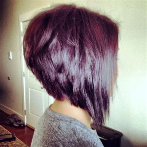 bob pictures show front and back view stacked bob haircut for straight hair pinterest popular