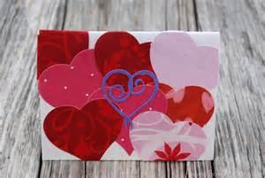 Handmade Valentines Day - valentine s day cards sew woodsy