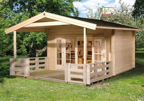 gartenhaus weka 171 weekendhaus 138 187 holz haus bausatz - Terrasse Vordach Holz