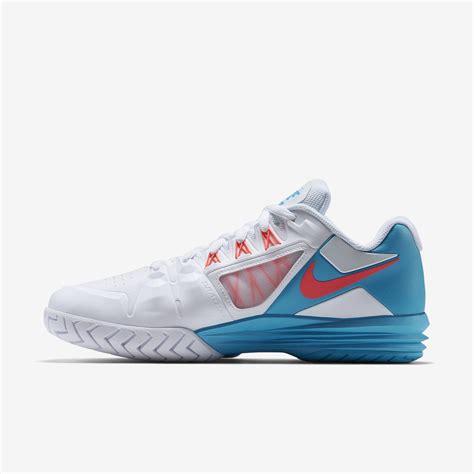 Nike Lunar7 nike mens lunar ballistec 1 5 tennis shoes white blue