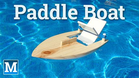 rubber band boat how to make a rubber band paddle boat fishing