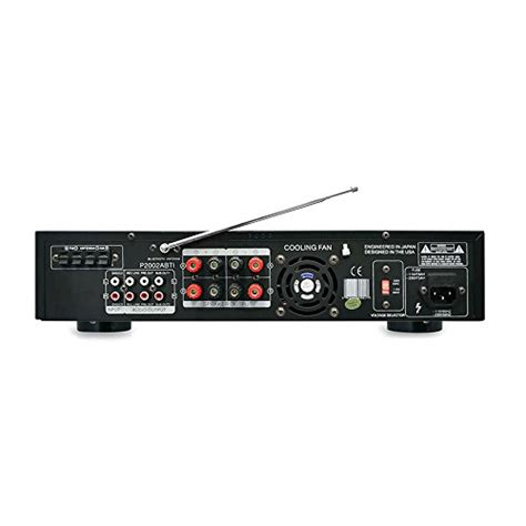 pyle p2002abti 2000 watts hybrid receiver and pre