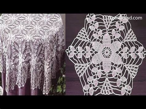 Crochet Motif Patterns For Tablecloth Part 5 How To Join crochet tablecloth doovi