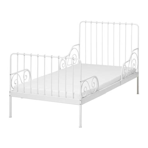 Ikea Toddler Bed Frame Minnen Ext Bed Frame With Slatted Bed Base Ikea