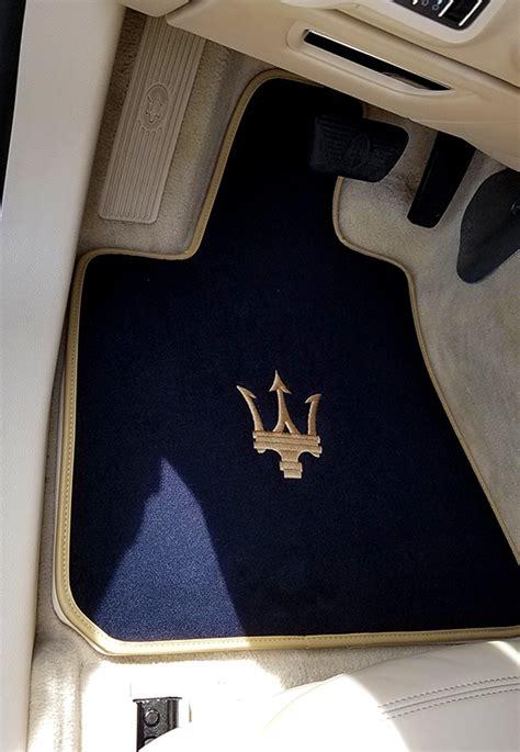 maserati quattroporte qp6 4pc custom velour front rear floor mats ebay
