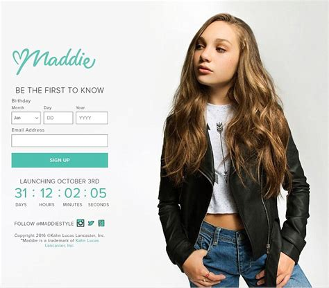 maddie singnature hair styles maddie ziegler launches fashion line inspired by her
