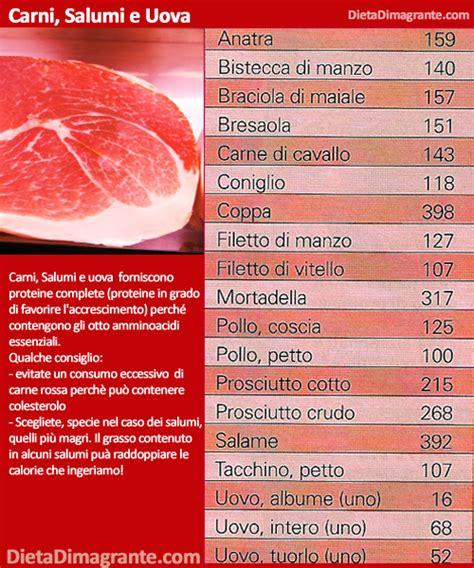 calorie per alimenti tabella dieta dimagrante 187 guida e tabella delle calorie