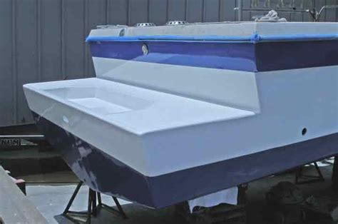 a kona hawaii scuba diver blabbers on so here s the hull - Fiberglass Boat Hull Extension