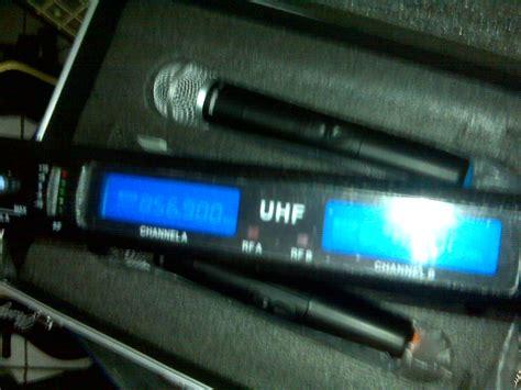 Mic Wireles Di Gitar Goethevoice 2 Mic Pegang mic shure wireless ulxp 700 10 dheton