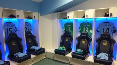 man city bedroom changing room picture of etihad stadium manchester