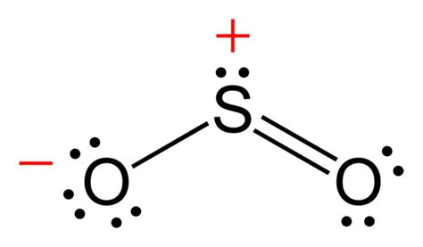sulfur lewis dot diagram file sulfur dioxide ve c 2d png wikimedia commons